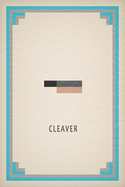Cleaver Card