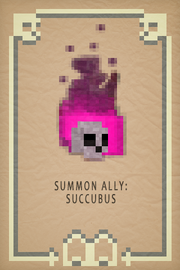 Summon Succubus Card