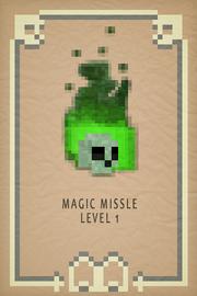 Magic Missle lvl 1