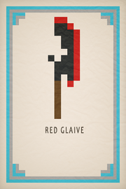 Red Glaive Card