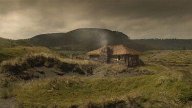 Haus im Sumpf