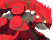 Groudon sit