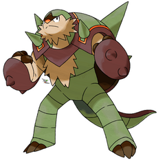 Shiny chesnaught