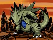 Tyranitar angry