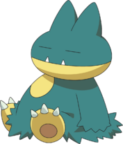 Munchlax DP anime 4