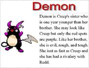 1. Demon's Bio