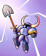 Shovel knight the bringer of shovel justice by wonder waffle-d7x819s