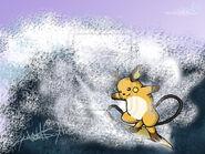 Surfing Raichu by LycaosScythe