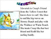 9. Maverick's Bio
