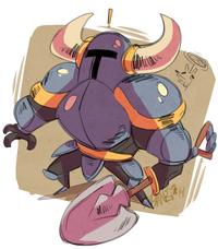 Shovel Knight sketch