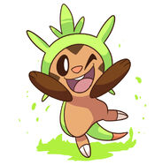 Chespin winky