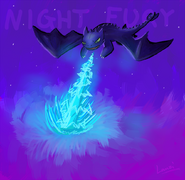 Night Fury by Lauzi