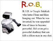 5. R.O.B.'s Bio