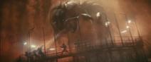 KOTM - Mothra silk attack
