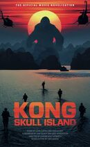 Kong Skull Island - The Official Movie Novelization cover
