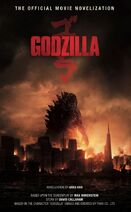Godzilla - The Official Movie Novelization cover