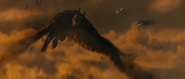GKOTM Trailer 1 - Rodan flying around vehicles