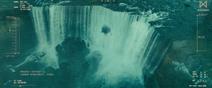 KOTM - Mothra in the waterfall