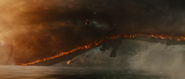 GKOTM Trailer 1 - Rodan flies just above the water