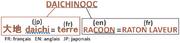 Origine du nom Daichinooc