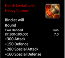 Death Leviathan's Heavy Cannon