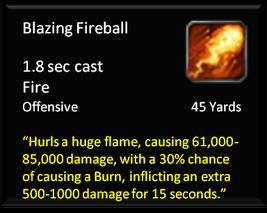 Blazing Fireball