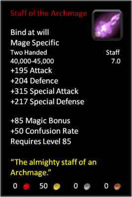 Staff of an Archmage