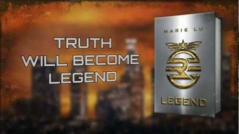 Legend Legend Marie Lu Wiki