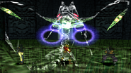 Regole Dragon Spirit uses Pulse Burst