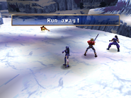Land Skater uses Escape