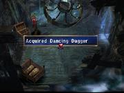 Dancing Dagger found in nursery of Phantom Ship