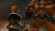 Kongol uses Lariat