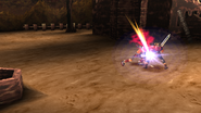 Knight of Sandora uses Dagger Swipe