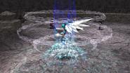 Damia uses Dragoon spell