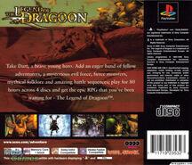 Legend of Dragoon EU back