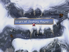 Gushing Magma Chest Snowfield