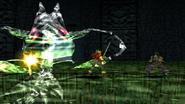 Regole Dragon Spirit uses Dragon Whip
