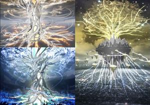 Azure Tree Puzzle Visuals