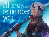 I'll remember you