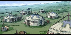 Sen-concept nomadic village