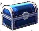 Tocs - treasure chest blue icon