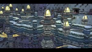 Aureole-ruins