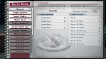 TLoH-ToCS RecipeBook