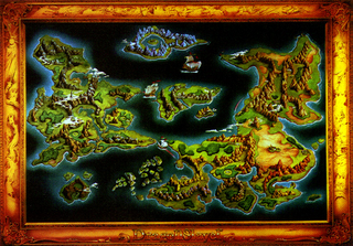 Map of Isrenasa