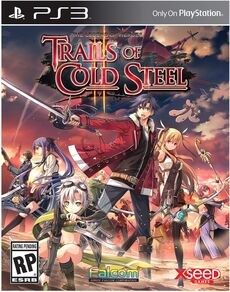 Trails of Cold Steel II PS3 cover