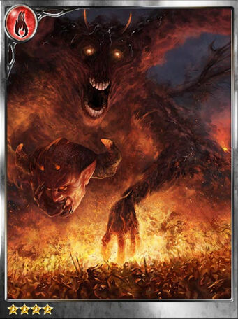 -Erupting- Scorching Demon Vasco