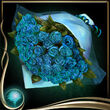 Turquoise Romantic Bouquet EX