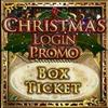 Christmas Login Promo Ticket