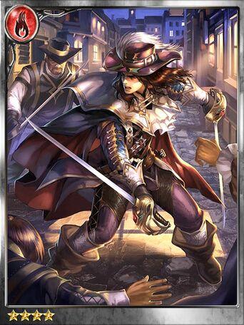 (Pensive) Unstoppable d'Artagnan