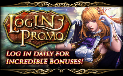 Monthly Login Promo